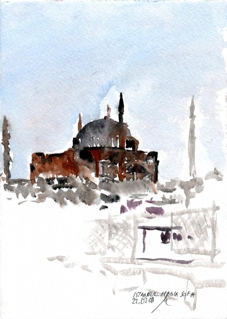 14 Hagia Sofia