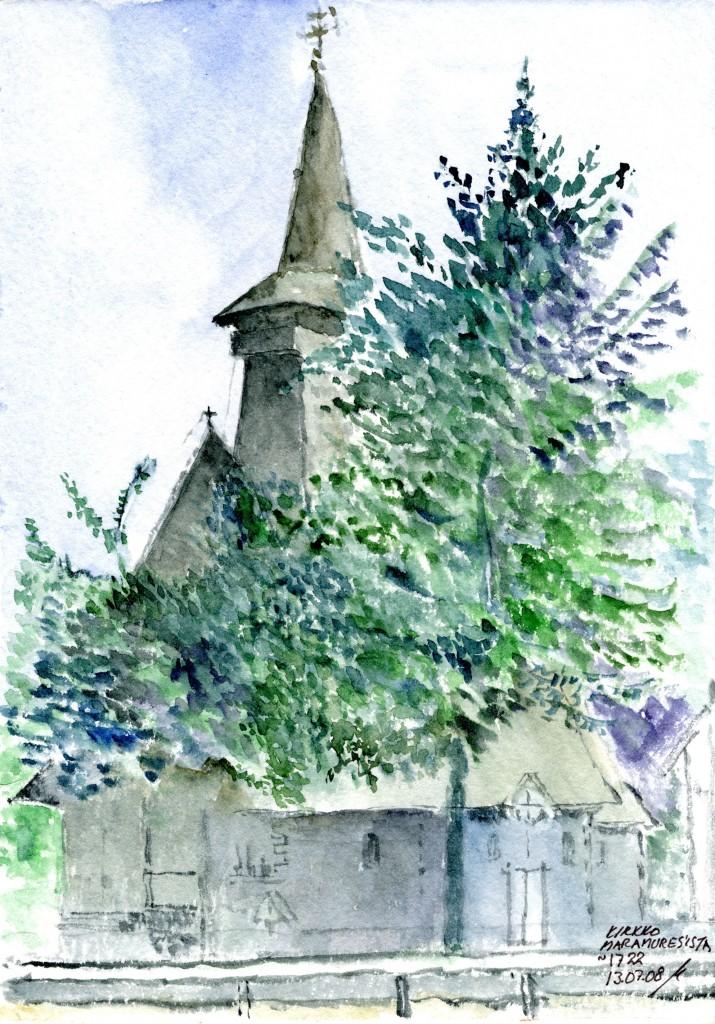 Kirkko Maramuresista